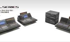 Surface contrôle & stage box Yamaha